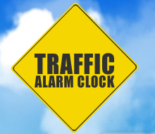 Traffic Alarm Clock iPhone App
