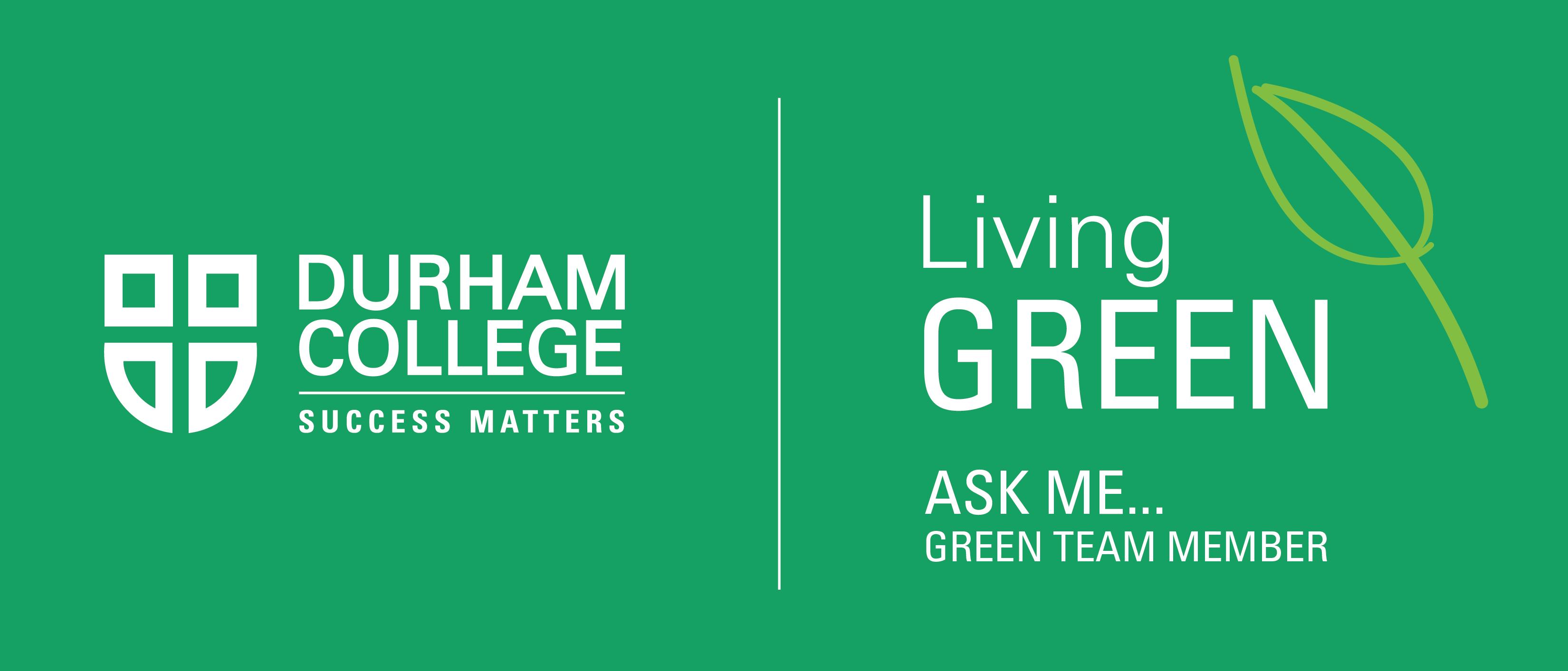 Green Team - T-shirt 2015