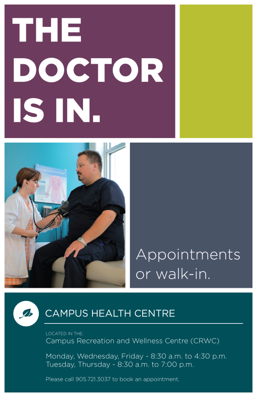 Campus Health Poster v1 - 11 x 17